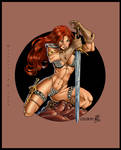Red Sonja by Wytherwing COLOR