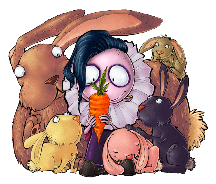 Bunnies by Marina COLORED
