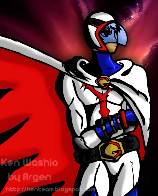8vo Combate - Ken Washio VRS Inspector Gadget Ken_Washio_Fanart_2_by_Argen_Amla