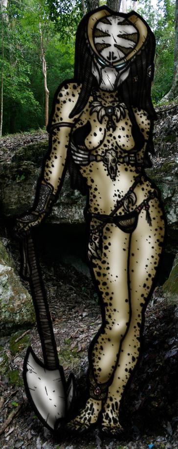 Female Axetor by DementedInk