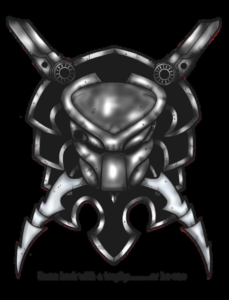 PREDATOR CREST by DementedInk by Drakhand006
