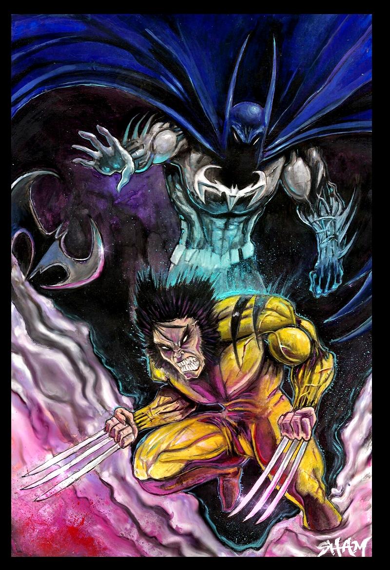 Batman Wolverine + Proceso