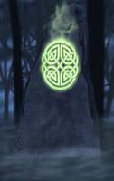 Druid Stone by tymora11