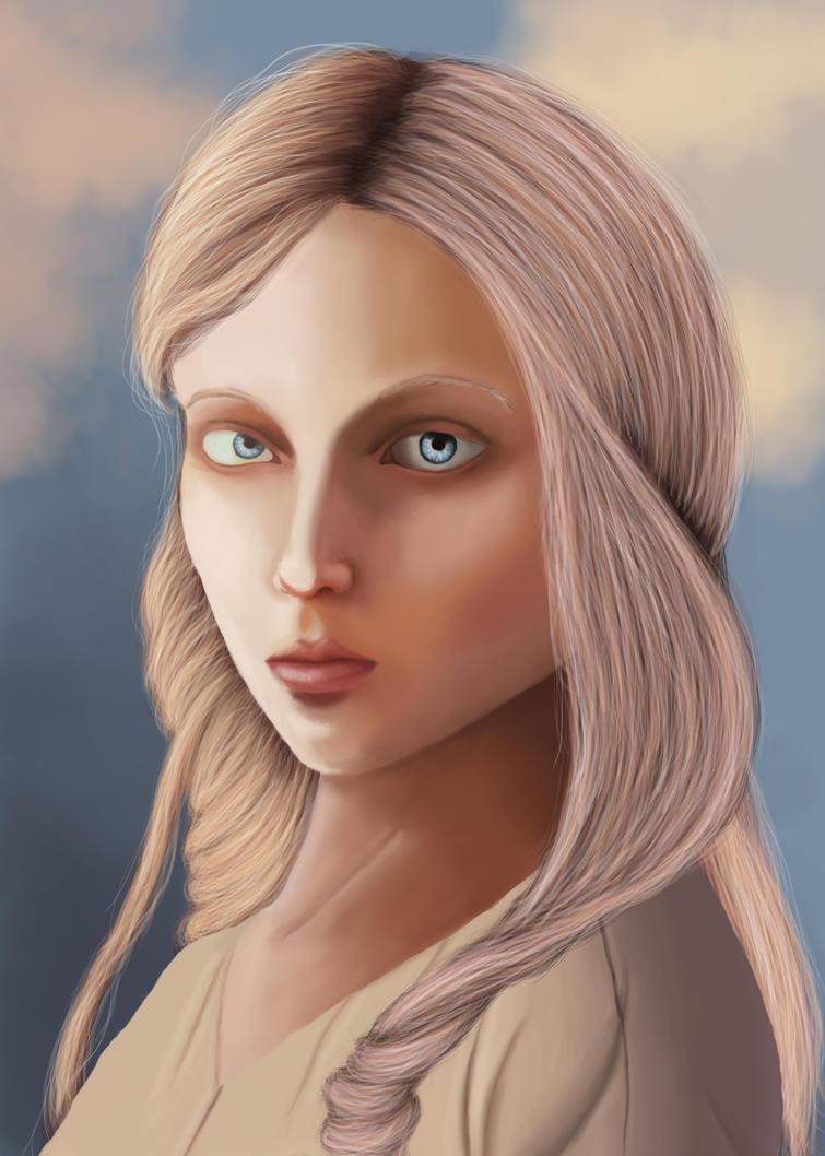 Portrait practice by tymora11