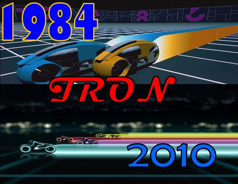 TRON Befor and After by Sunshine-Girl524