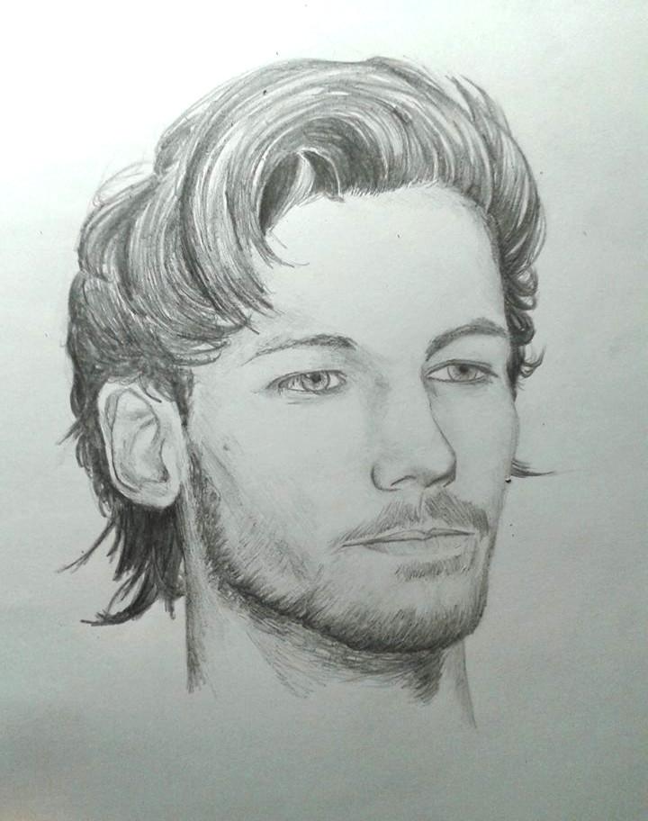 Louis tomlinson drawing