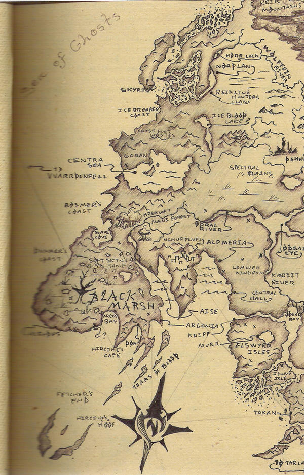 My Pre-Oblivion Map of Tamriel by kahlure on DeviantArt on full skyrim map, full map of fallout new vegas, elder scrolls oblivion, full map of gta 4, full oblivion caves map map,