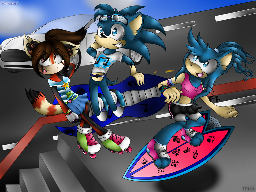 CE_3: Sonic riders_(2) by Kartsuli
