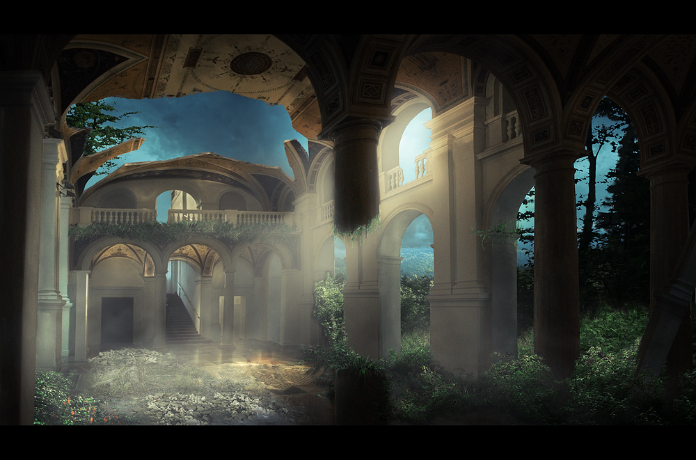 Gallery-matte painting by Tomasx4
