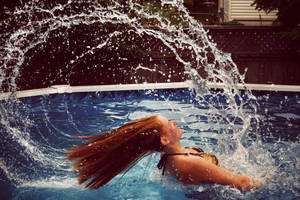 Water Hair Flip by shaina74