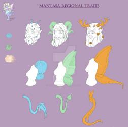 Mantasa Regional Trait sheet by CrownFoxStar