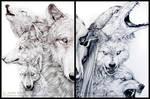 Wolf Diptych