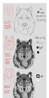 Wolf Portrait Mini-Tutorial
