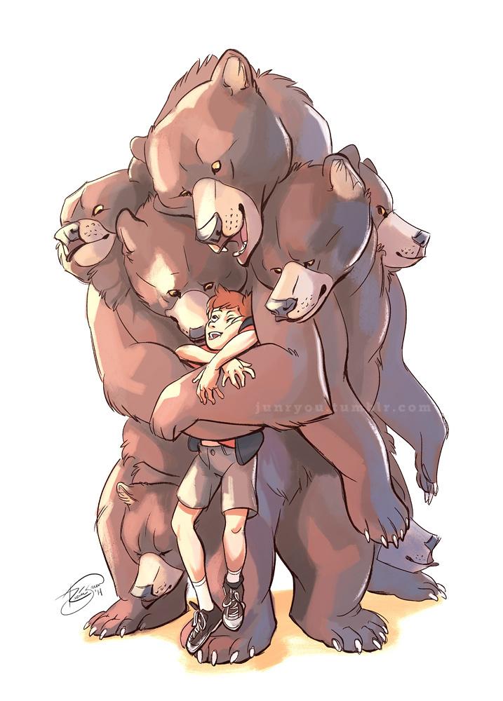 Multi-Bear Hug by Junryou-na-Kokoro