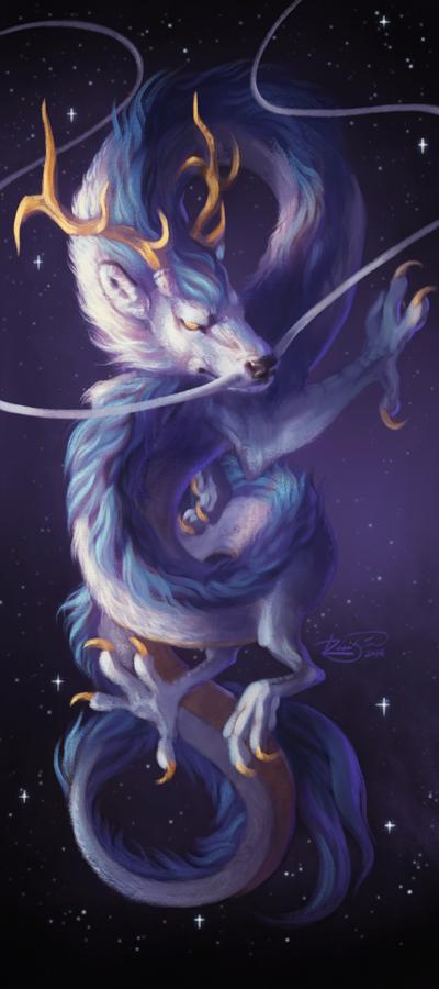 Cosmic Dragon by Junryou-na-Kokoro