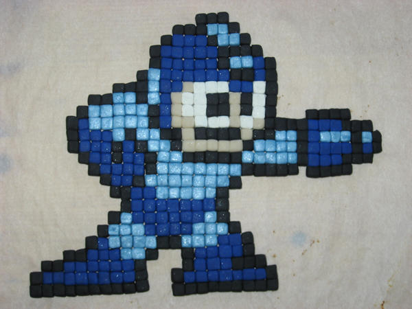 Mega Man, Eight-bit by Awasai