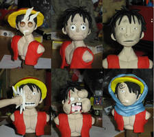 Faces of Luffy