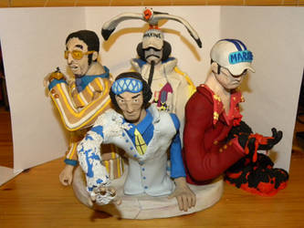One Piece Admiral Bust Set by Awasai