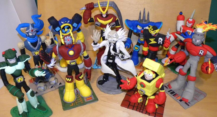 Mega Man Robot Masters by Awasai