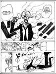 Fake Sanji vs. Enel by Awasai