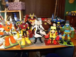 Mega Man 2 Robot Masters by Awasai