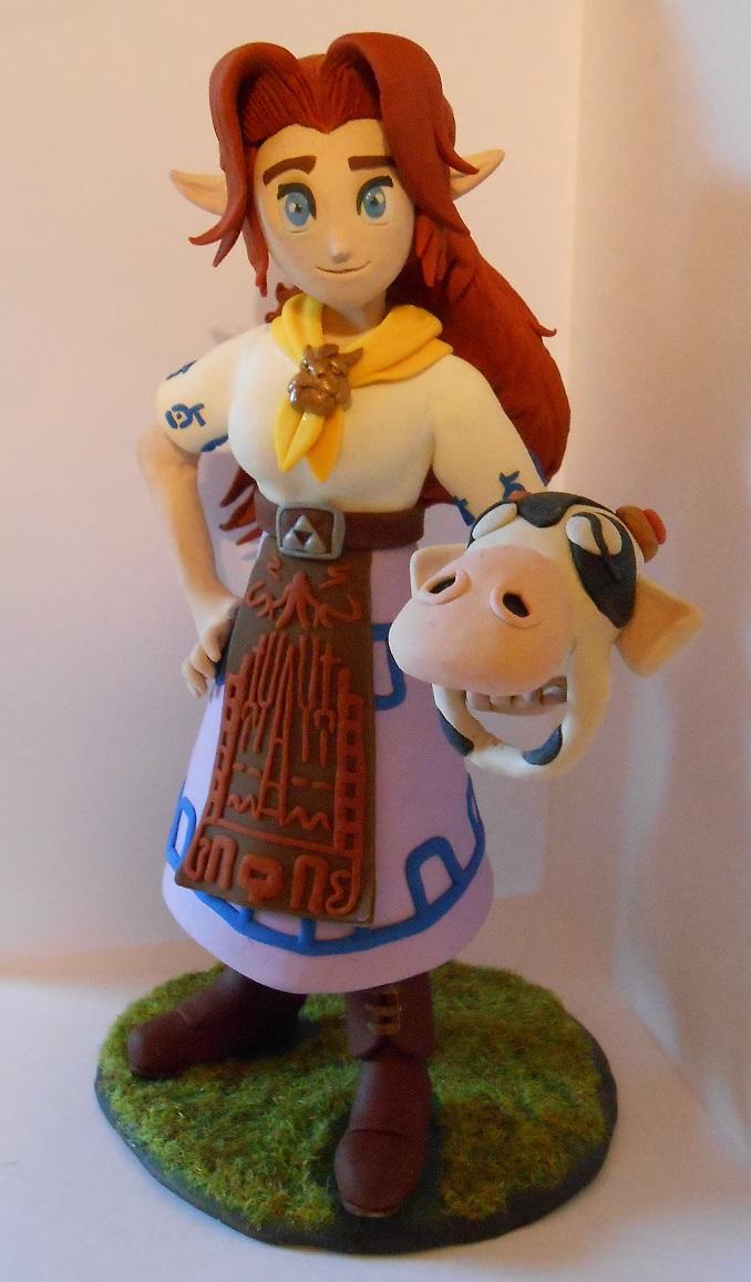 Cremia (Adult Malon) and Romani's Mask by Awasai