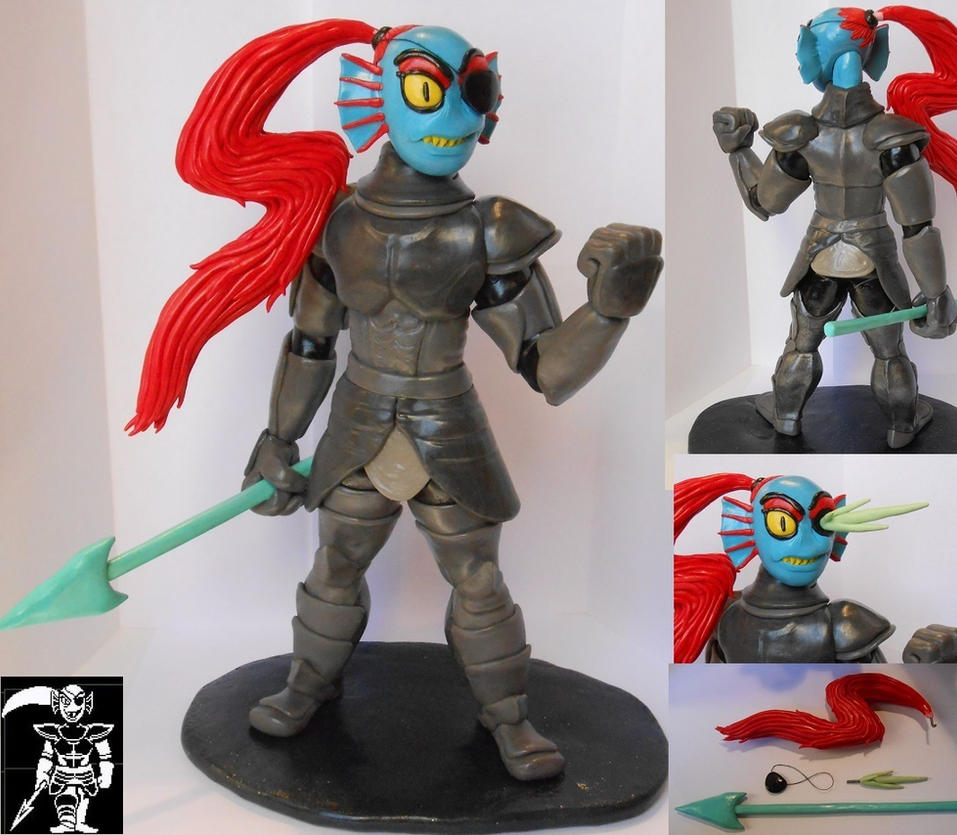 Undertale's Undyne by Awasai
