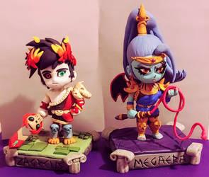 Zagreus and Megaera (Hades)