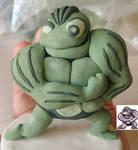 Gen 1 Machoke sprite sculpt