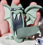 Gen 1 Golbat sprite sculpt