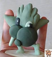 Gen 1 Hitmonchan sprite sculpt