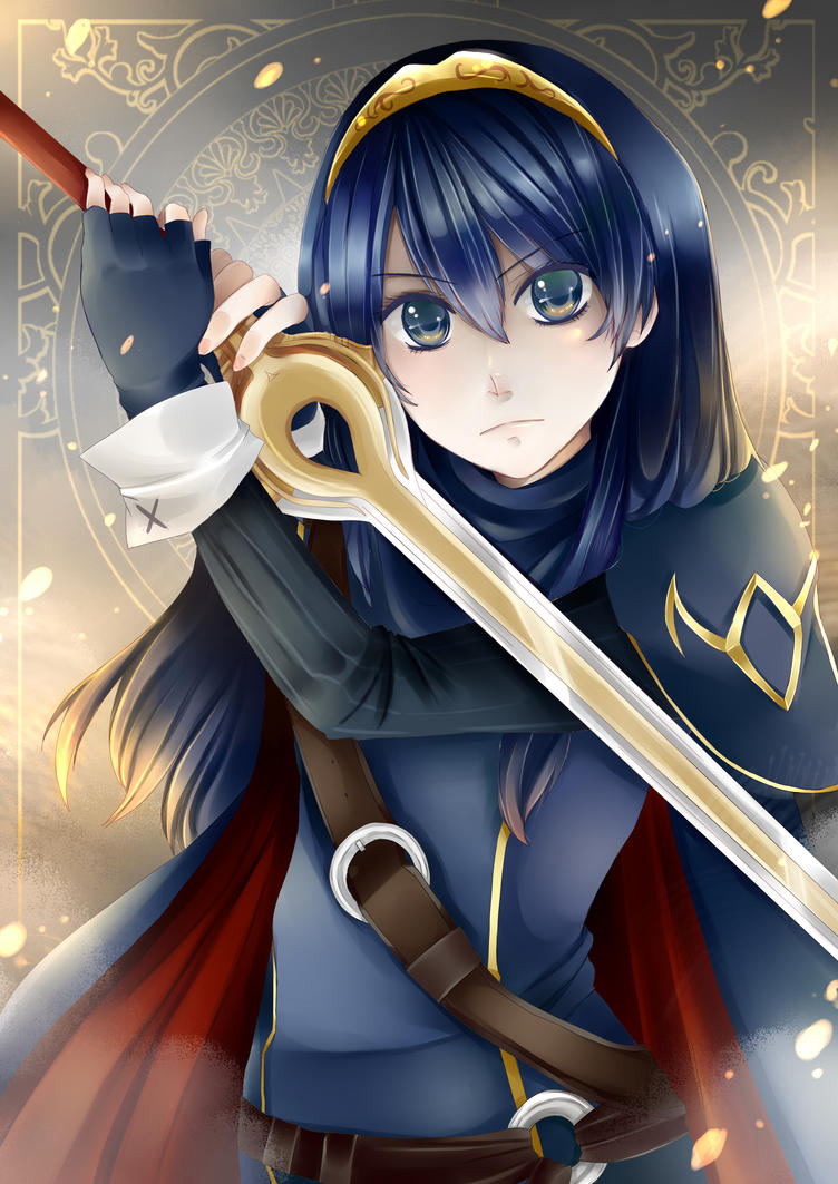Lucina by Azallie on DeviantArt