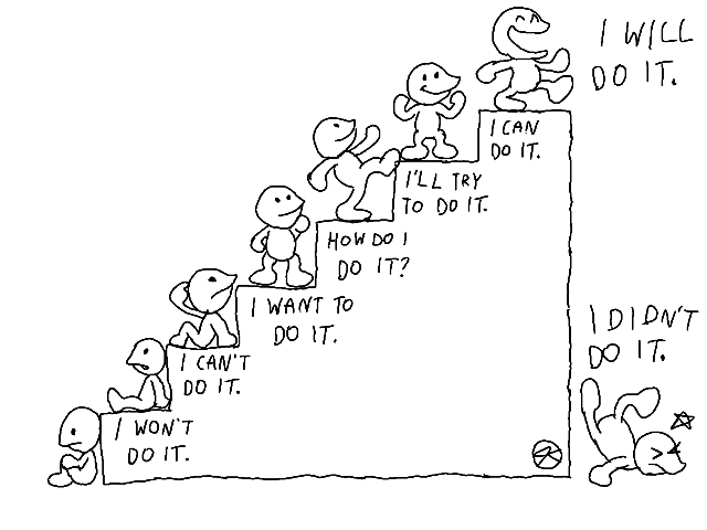 Which Step Are You On Today? by JK-Kino