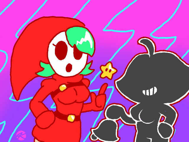 Shygal and Ms. Game by JK-Kino