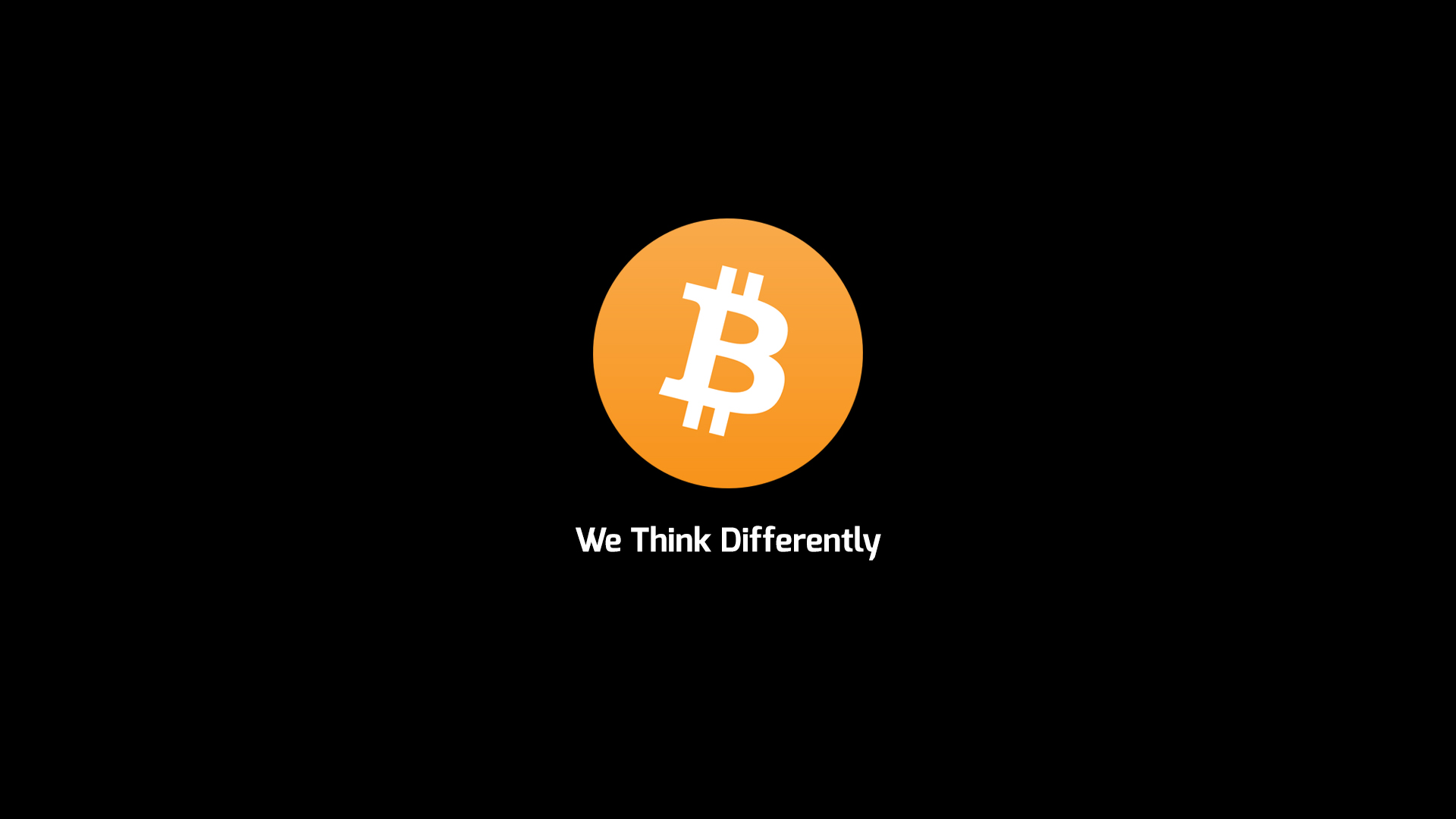 We Think Differently - Bitcoin by DrasticRaven