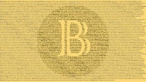 Blackcoin Description Wallpaper by DrasticRaven