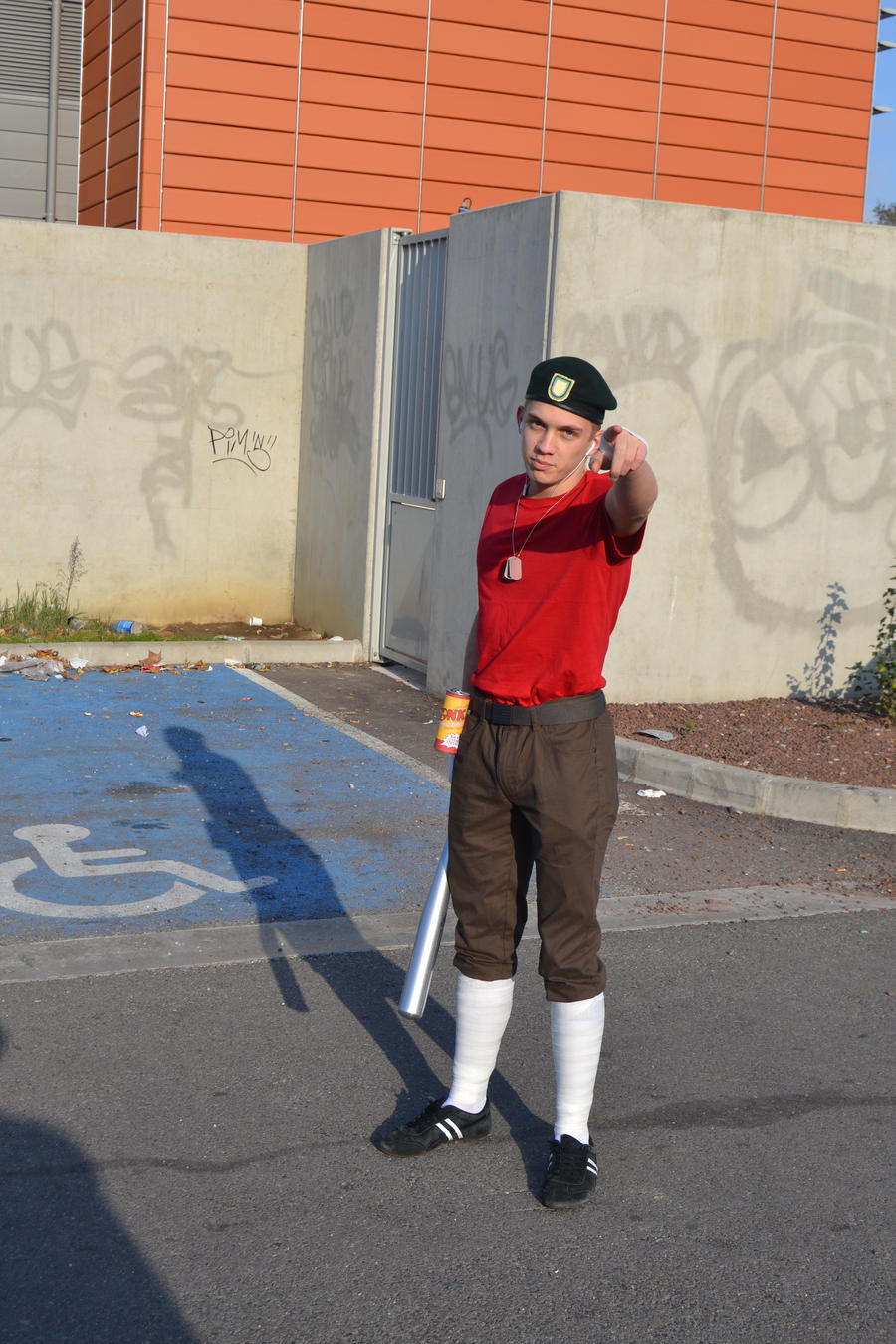 Team fortress 2 scout cosplay