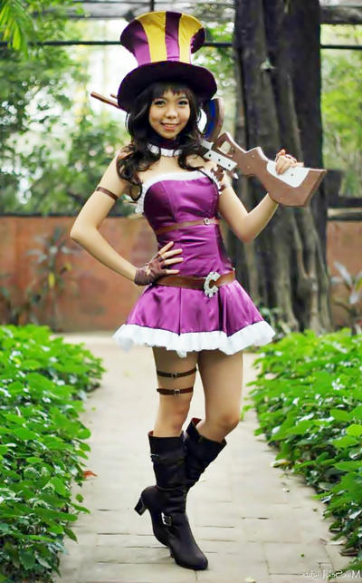League of Legends: Caitlyn cosplay by kitzc on DeviantArt