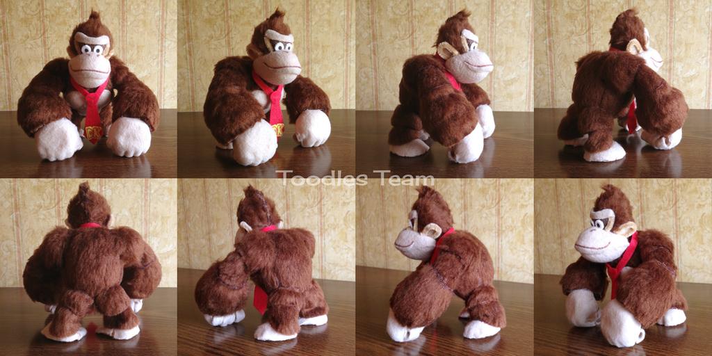 Spyrofoam Donkey Kong by ToodlesTeam