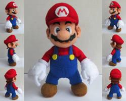 Mario from Super Mario Galaxy by ToodlesTeam