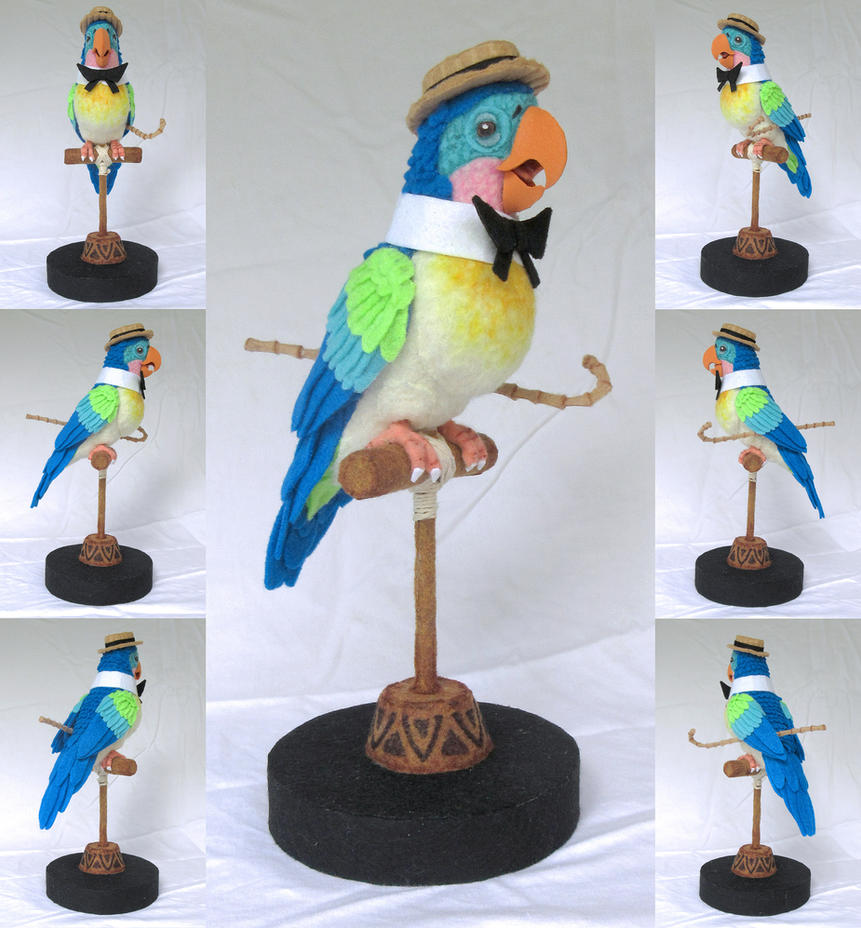 Enchanted Tiki Room Barker Bird by ToodlesTeam