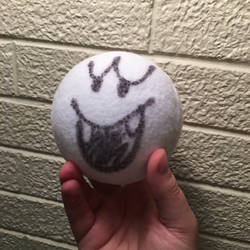 Boo Ball from Luigi's Mansion by ToodlesTeam