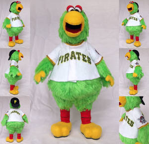 The Pittsburgh Pirate Parrot
