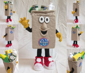 Bagster the Kroger Mascot by ToodlesTeam