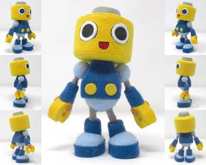 Servbot from Mega Man Legends