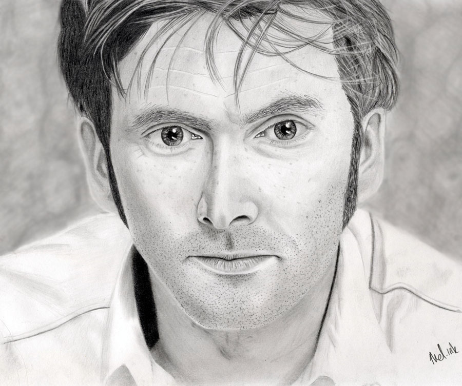 Tennant has freckles... by ChaosAcathla