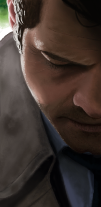 Castiels moody face - speed paint by ChaosAcathla