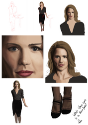 Ms Smoak WIPs by ChaosAcathla