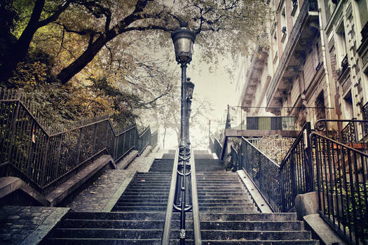 The Way To Sacre-Coeur