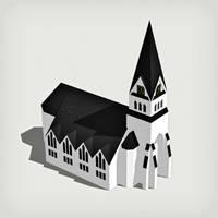 Church of Vindeln by eran0004